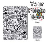 Panic! At The Disco Lyric Quotes Playing Cards 54 Designs  Front - Club10