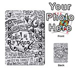 Panic! At The Disco Lyric Quotes Playing Cards 54 Designs  Front - Joker1