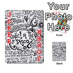 Panic! At The Disco Lyric Quotes Playing Cards 54 Designs  Front - Joker2