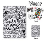 Panic! At The Disco Lyric Quotes Playing Cards 54 Designs  Front - SpadeJ