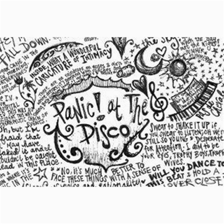 Panic! At The Disco Lyric Quotes Collage Prints