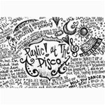 Panic! At The Disco Lyric Quotes Collage Prints 18 x12 Print - 2