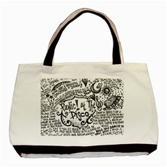 Panic! At The Disco Lyric Quotes Basic Tote Bag
