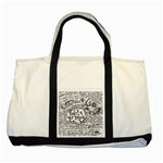 Panic! At The Disco Lyric Quotes Two Tone Tote Bag Front