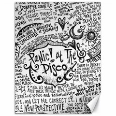 Panic! At The Disco Lyric Quotes Canvas 18  x 24