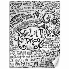 Panic! At The Disco Lyric Quotes Canvas 36  X 48