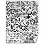 Panic! At The Disco Lyric Quotes Canvas 36  x 48   48 x36 Canvas - 1