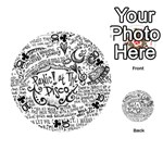 Panic! At The Disco Lyric Quotes Playing Cards 54 (Round)  Front - Club10