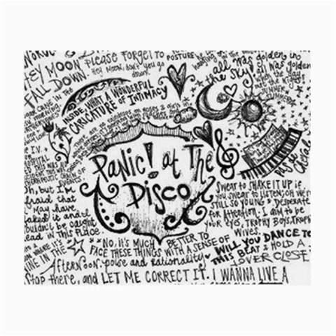 Panic! At The Disco Lyric Quotes Small Glasses Cloth (2-Side)