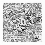 Panic! At The Disco Lyric Quotes Medium Glasses Cloth (2-Side) Back