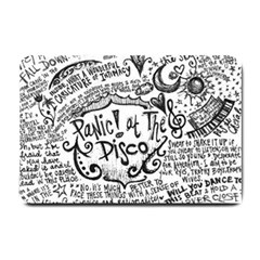 Panic! At The Disco Lyric Quotes Small Doormat