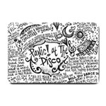 Panic! At The Disco Lyric Quotes Small Doormat  24 x16 Door Mat - 1
