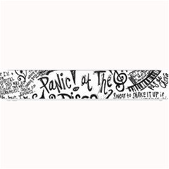 Panic! At The Disco Lyric Quotes Small Bar Mats