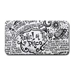Panic! At The Disco Lyric Quotes Medium Bar Mats 16 x8.5 Bar Mat - 1