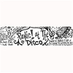 Panic! At The Disco Lyric Quotes Large Bar Mats 34 x9.03 Bar Mat - 1