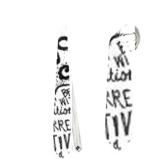 Panic! At The Disco Lyric Quotes Neckties (Two Side)