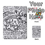Panic! At The Disco Lyric Quotes Multi-purpose Cards (Rectangle)  Back 4