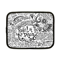 Panic! At The Disco Lyric Quotes Netbook Case (Small)