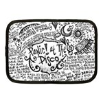 Panic! At The Disco Lyric Quotes Netbook Case (Medium)  Front