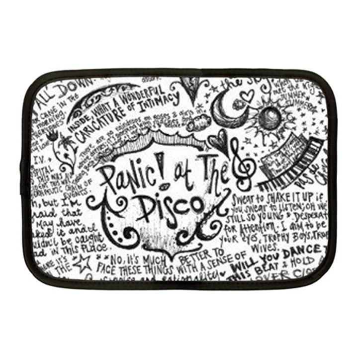Panic! At The Disco Lyric Quotes Netbook Case (Medium)