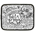 Panic! At The Disco Lyric Quotes Netbook Case (Large) Front