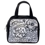 Panic! At The Disco Lyric Quotes Classic Handbags (One Side) Front