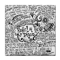 Panic! At The Disco Lyric Quotes Face Towel