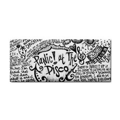 Panic! At The Disco Lyric Quotes Hand Towel