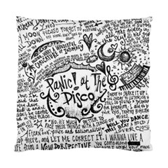 Panic! At The Disco Lyric Quotes Standard Cushion Case (Two Sides)