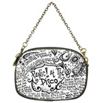 Panic! At The Disco Lyric Quotes Chain Purses (Two Sides)  Back