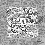 Panic! At The Disco Lyric Quotes Mini Canvas 4  x 4  4  x 4  x 0.875  Stretched Canvas