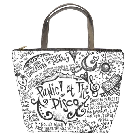 Panic! At The Disco Lyric Quotes Bucket Bags
