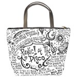 Panic! At The Disco Lyric Quotes Bucket Bags Back