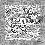 Panic! At The Disco Lyric Quotes Mini Canvas 6  x 6  6  x 6  x 0.875  Stretched Canvas