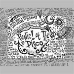 Panic! At The Disco Lyric Quotes Mini Canvas 7  x 5  7  x 5  x 0.875  Stretched Canvas
