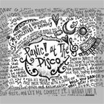 Panic! At The Disco Lyric Quotes Canvas 10  x 8  10  x 8  x 0.875  Stretched Canvas