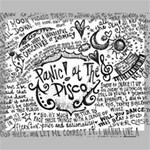 Panic! At The Disco Lyric Quotes Canvas 20  x 16  20  x 16  x 0.875  Stretched Canvas