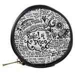 Panic! At The Disco Lyric Quotes Mini Makeup Bags Back
