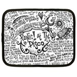 Panic! At The Disco Lyric Quotes Netbook Case (XL)  Front
