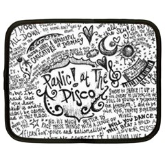 Panic! At The Disco Lyric Quotes Netbook Case (xxl)