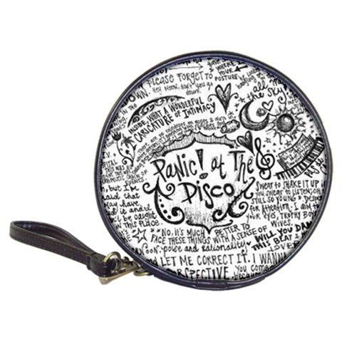 Panic! At The Disco Lyric Quotes Classic 20-CD Wallets