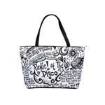 Panic! At The Disco Lyric Quotes Shoulder Handbags Front