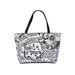Panic! At The Disco Lyric Quotes Shoulder Handbags Back