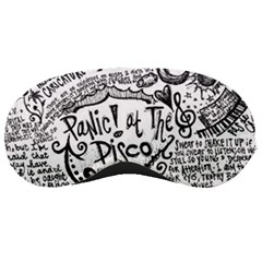 Panic! At The Disco Lyric Quotes Sleeping Masks