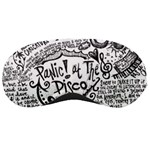 Panic! At The Disco Lyric Quotes Sleeping Masks Front