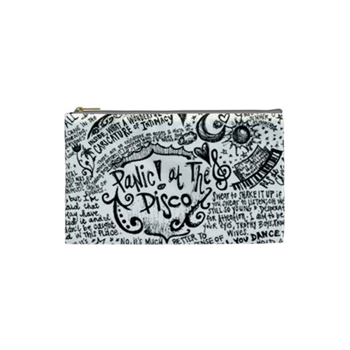 Panic! At The Disco Lyric Quotes Cosmetic Bag (Small)