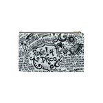 Panic! At The Disco Lyric Quotes Cosmetic Bag (Small)  Back