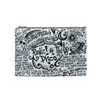 Panic! At The Disco Lyric Quotes Cosmetic Bag (Medium)  Front