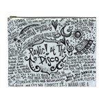 Panic! At The Disco Lyric Quotes Cosmetic Bag (XL) Front
