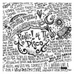 Panic! At The Disco Lyric Quotes Small Memo Pads 3.75 x3.75  Memopad